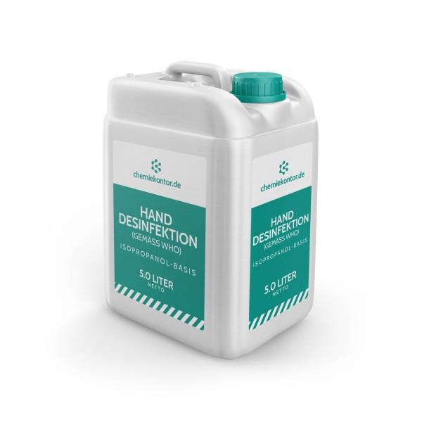 Handdesinfektionsmittel (Basis: Isopropanol)