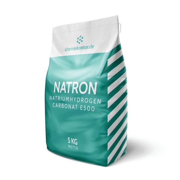 Natron (Natriumhydrogencarbonat E500)
